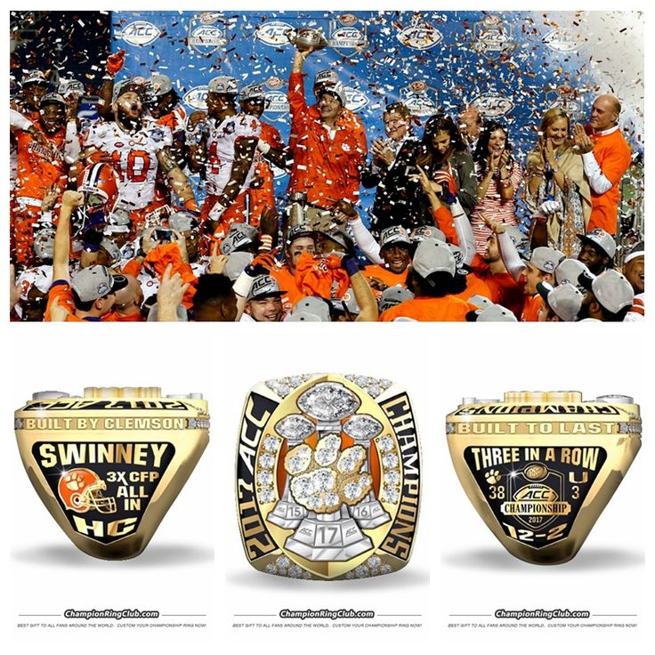 ncaaf college s rings custom tigers ring champions championship p clemson football men mens