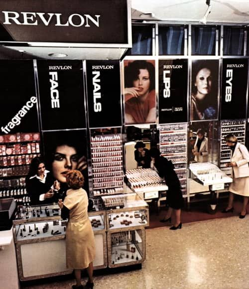 Revlon Cosmetic Stands, 1976