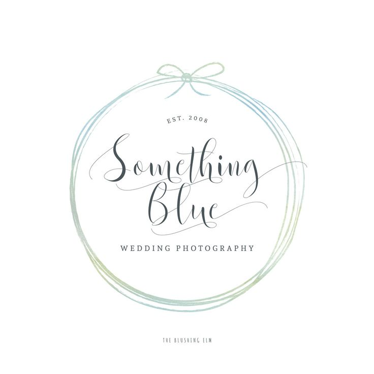 Premade Logo Graphic Design Business Wedding Photography By
