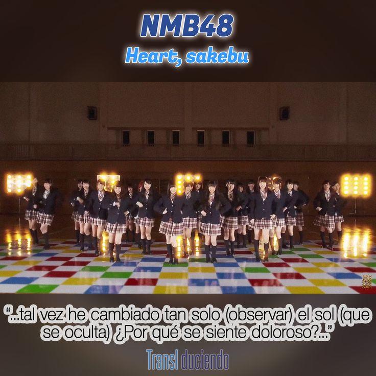 Canción traducida: #NMB48 - #HeartSakebu| #DontLookBack #JPop #JMusic Encuéntrala completa en: http://transl-duciendo.blogspot.com.au/2015/06/nmb48-heart-sakebu-corazon-gritando.html