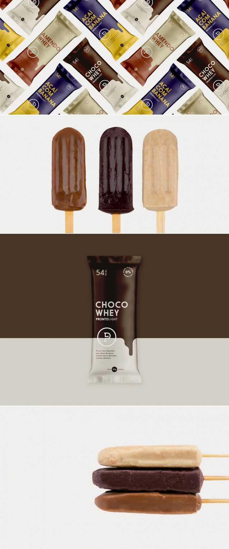 Pronto Light Ice Cream – Die Dieline | Packaging & Branding Design & Inno …   – Food Packaging