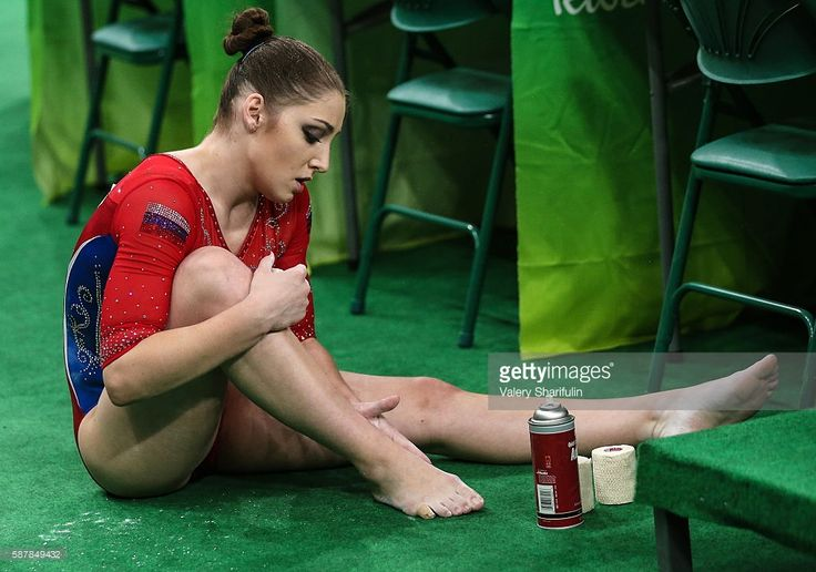 Russia's Aliya Mustafina in the artistic gymnastics women's team final at the Rio 2016 Summer Olympic Games, at the Rio Olympic Arena. Valery Sharifulin/TASS