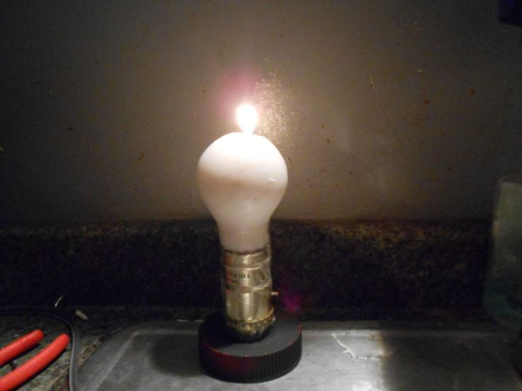 1000 Ideas About Candle Light Bulbs On Pinterest Candle Lighting