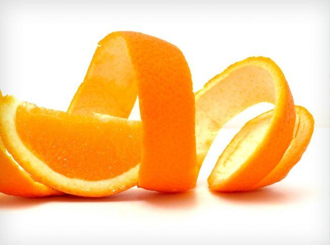 cascara de naranja propiedades.