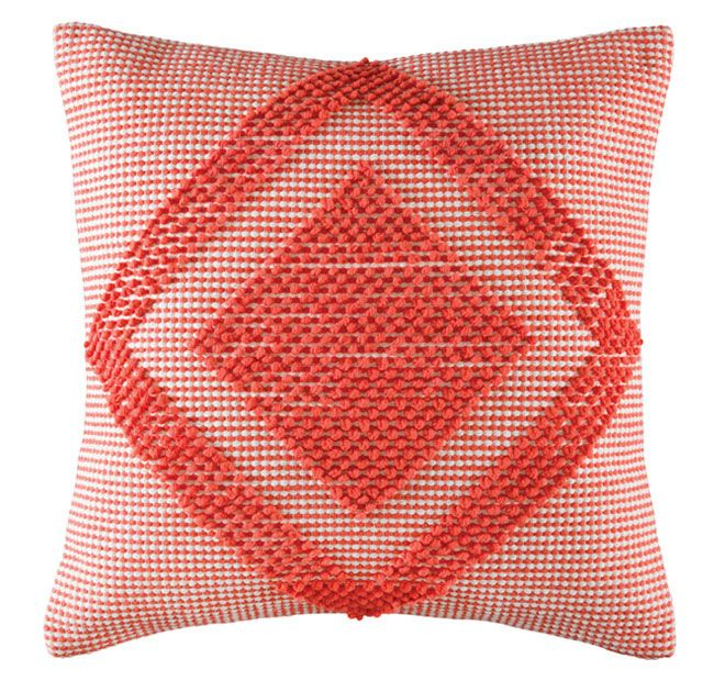Kas Room Jelani 50x50cm Filled Cushion Melon