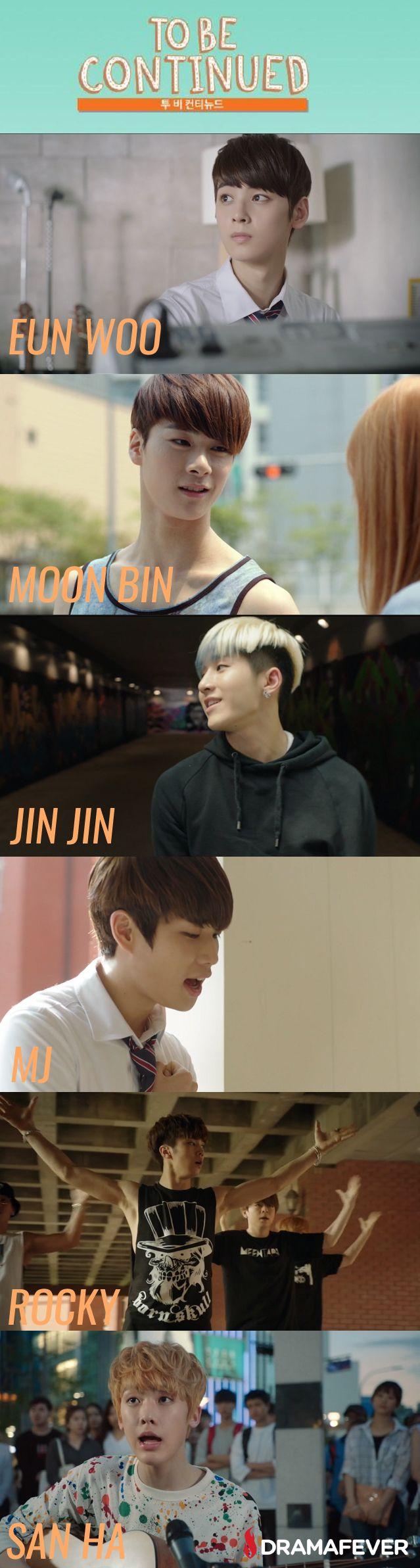Se reúnen los miembros del nuevo grupo de K-pop en ASTRO Continuará, una serie web corto acerca de un grupo de K-pop que viaja en el tiempo y revive los días antes de su debut.