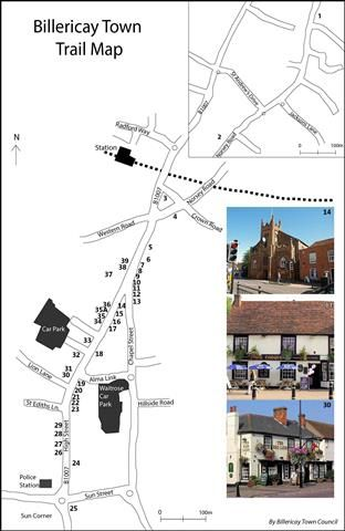 Billericay town trail and cycle route