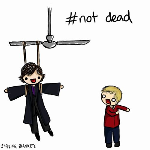 7 Ways Sherlock Could Come Back in Season 3. LOOK AT THIS. LOOK AT IT.