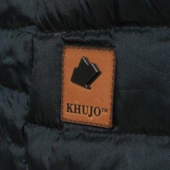 Khujo Damen Daunenmantel Malia blau