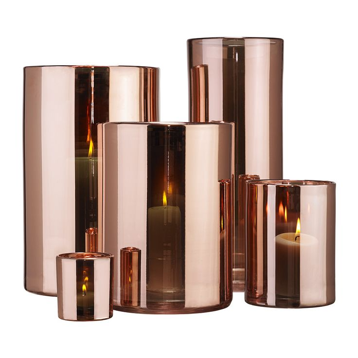 rose gold candle holders | Home Accessories Candles & Candle Holders Tealight Holders Tealight ...
