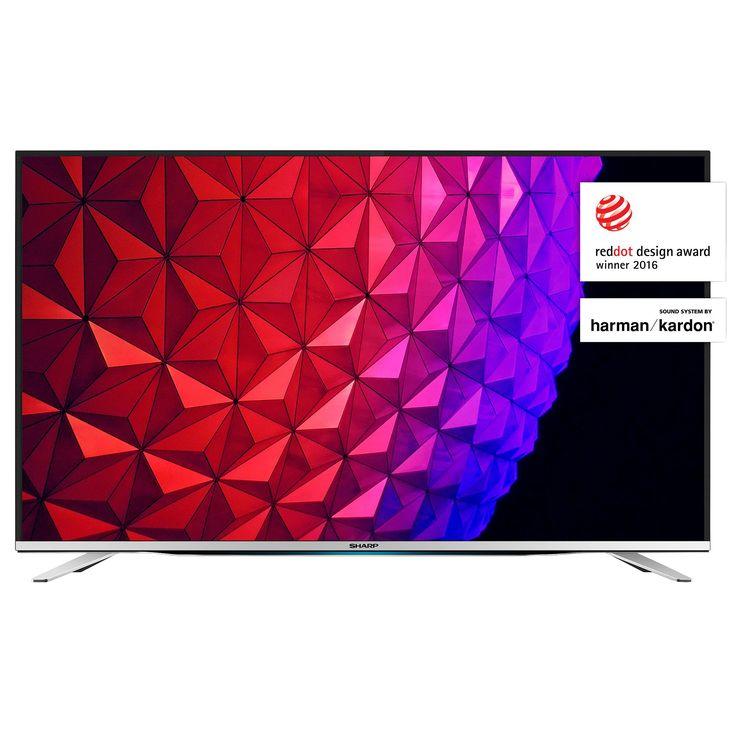 Televizor LED Smart Sharp LC-40CFG6452E – Imagini spectaculoase si sunet de exceptie! Televizorul are un ecran Full HD la rezolutie de 1920 x 1080 pixeli si o diagonala de 102 cm.  Cu tehnologia sunetului de la Harman/Kardon Sound cu iesire RMS 2 x 10W.