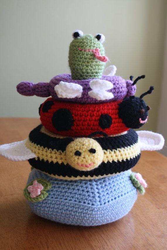 Crochet Amigurumi Ring : 74 best Yarn animals images on Pinterest