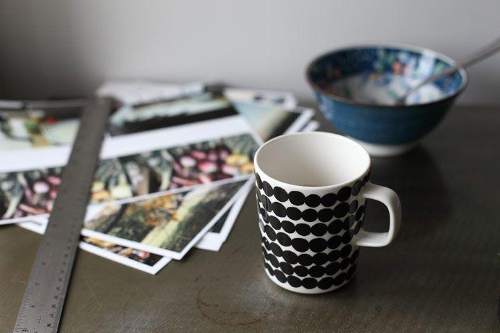 pretty coffee cup