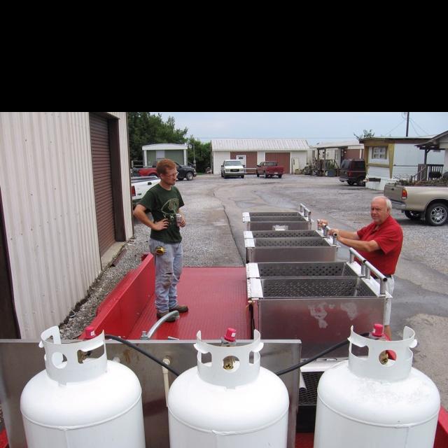 Crawfish cooking trailer!!   Bayou Bug Boilers   Pinterest ...