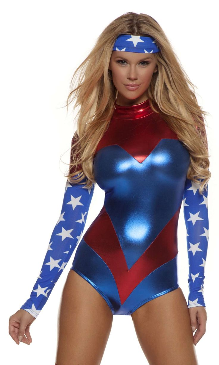 Sexy super hero costume