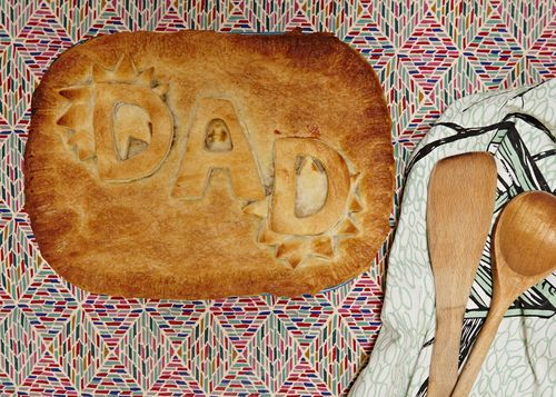 Easy Fathers Day gift idea: Dad Pie - Seeds and Stiches