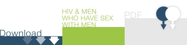 Are you a man who has sex with men?   Check out these specific HIV prevention tips and facts for you.