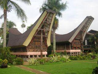 Tongkonan - South Sumatera Traditional House