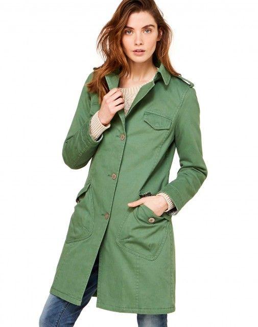 Kaufe Steppmantel Grün für JACKEN UND MÄNTEL im offiziellen Onlineshop von United Colors of Benetton.