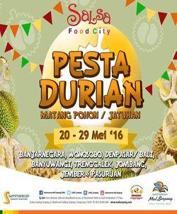 Pesta Durian 2016 Summarecon Mall Serpong http://www.perutgendut.com/read/pesta-durian-2016-summarecon-mall-serpong/1628 #Event #Food #Kuliner #Indonesia