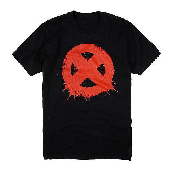 Marvel X-Men Splatter Logo T-Shirt Hot Topic (68 BRL) ❤