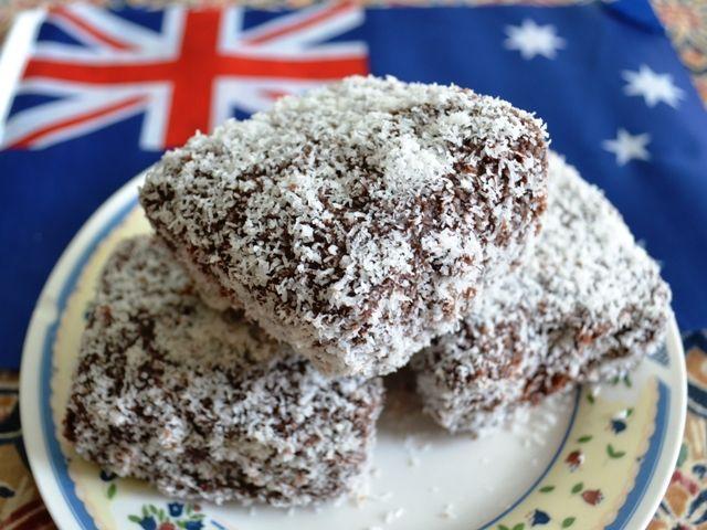 Double Chocolate Lamingtons