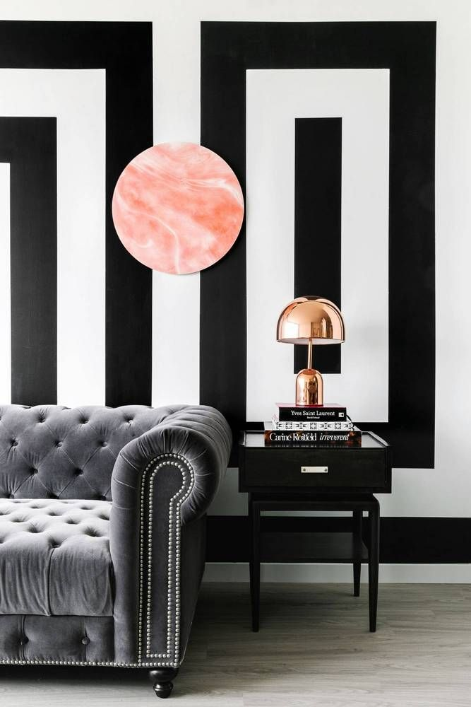 See more images from an entire apartment in black & white (and why it works!) on domino.com #myapartment