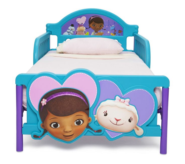 disney doc mcstuffins convertible toddler bed