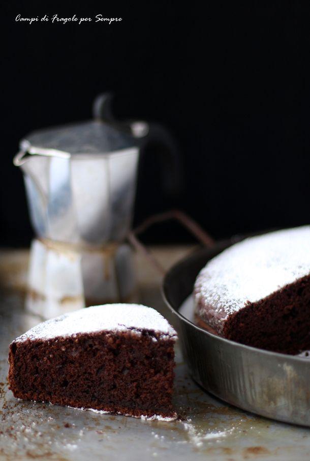 Torta al caffè, cioccolato e ricotta