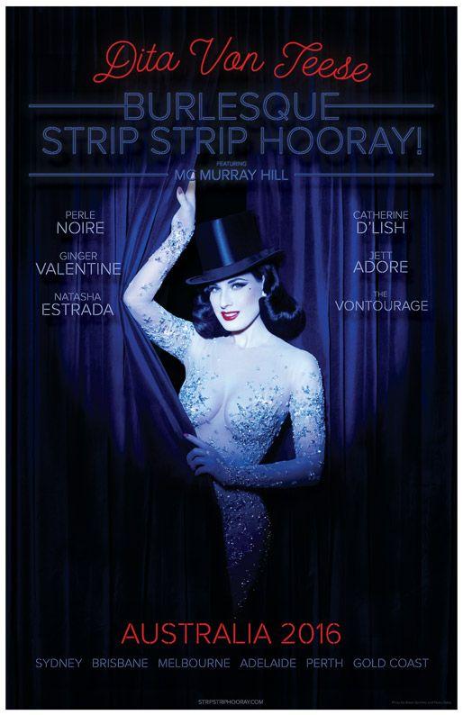 Burlesque: Strip Strip Hooray! Australia 2016