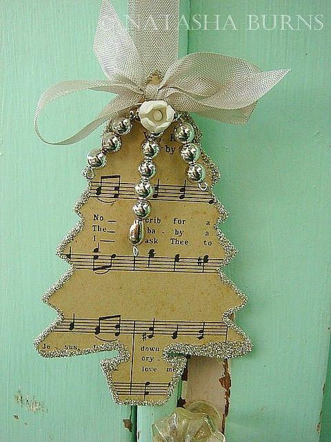 Music Notes Tree by anastasiastarz