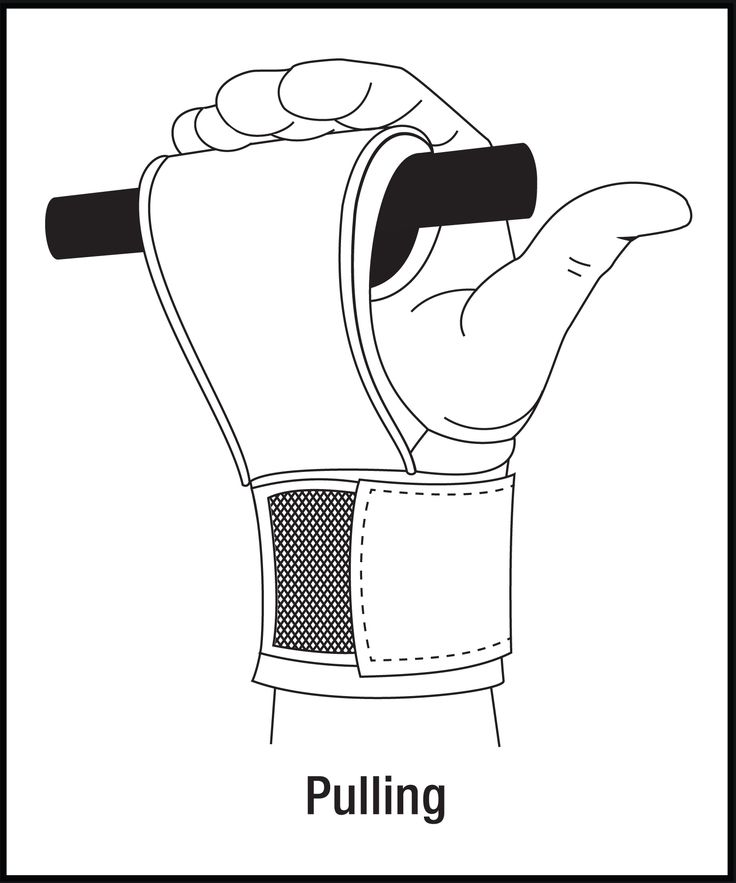 Power Grabs Lifting Grips Reverse Wrap Pulling Motion