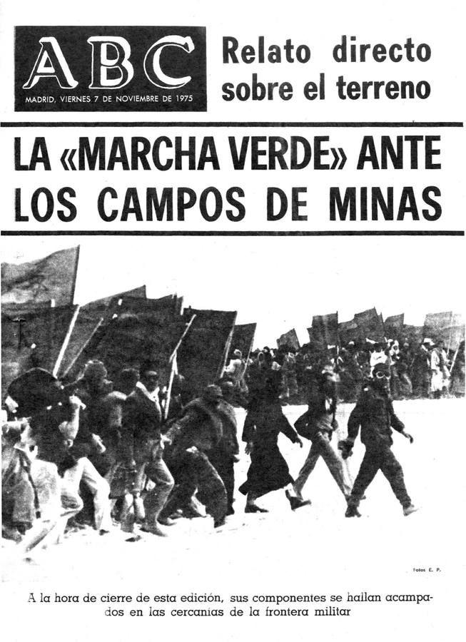 40 años de la Marcha Verde, en imágenes