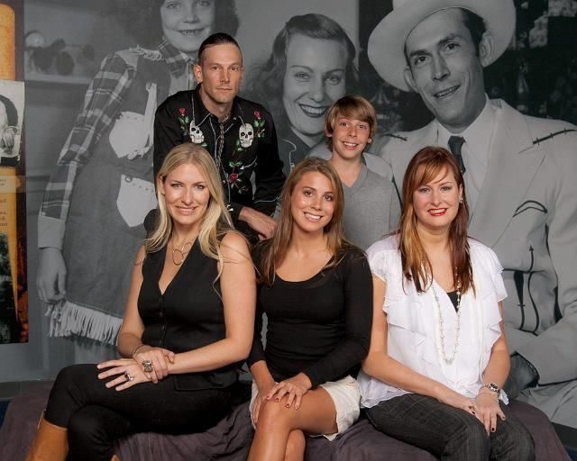 The legacy continues... the Williams grandchildren. L-R (Back Row) Hank III and Samuel (Front Row) Holly, Katie and Hilary (Courtesy Martha Cullifer Howell) (2012)