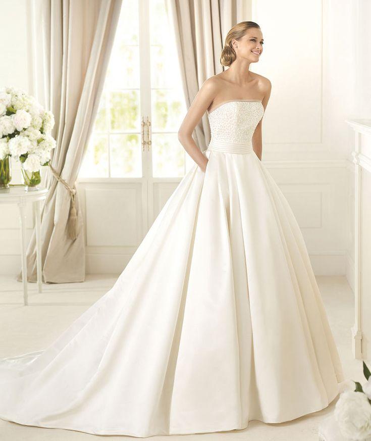vestidos de novias con bolsillos