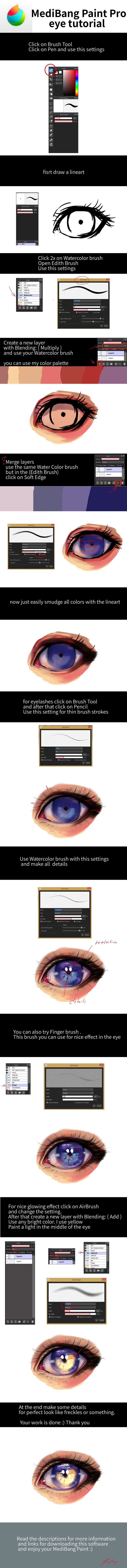 EASY EYE TUTORIAL by ryky.deviantart.com on @DeviantArt