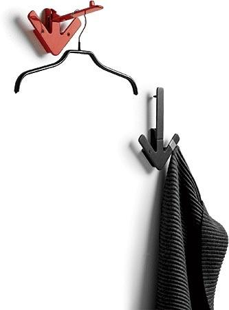 The powder-coated aluminum Arrow Hanger by Gustav Hallén for Design House Stockholm