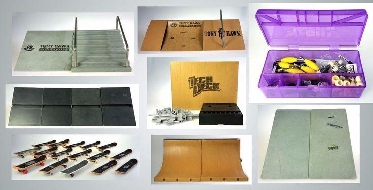 Tech Deck Tony Hawk Foundation Skateboard Toy Large Lot Ramp Rail #TechDeckTonyHawkFoundation