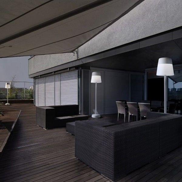 descuentos ofertas lmpara pie interior y exterior halgeno blanco iluminacin decoracin