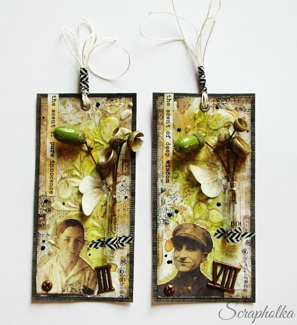 Scrapholka: Indian Summer Tags for Papero amo