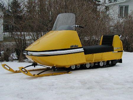 Max Sled Vintage: 1969 Ski-Doo Nordic