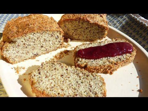 ▶ Cómo preparar Pan de almendras sin gluten - YouTube