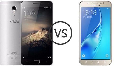 Samsung Galaxy J7 (2016) vs Lenovo Vibe P1