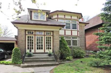 Elegant, Detached Grand Dame In Prime High Park. This Large Well Maintained Property Is Currently Duplexed, However Easy Conversion Back To Single Family Splendor Is Possible. Large Private Backyard With South Facing Veranda And Balcony. Gorgeous Neighbouring Homes And An Easy Stroll To Roncesvalles Or High Park.Many Historical Features. Newer Roof And Furnace.