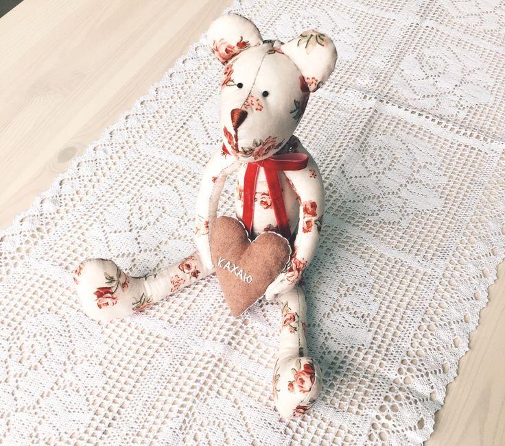 "Bear handmade by Vitalina Yazykova , мишка ""Кахаю"""
