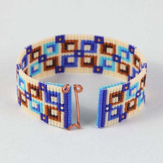 Trattativa quadrata perlina Loom Bracciale gioielli