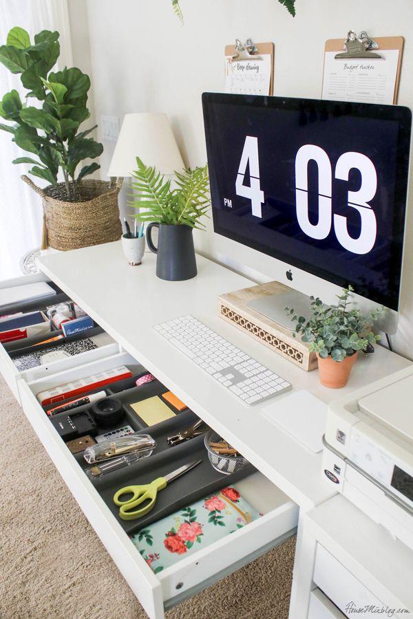 Office Organization Ideas And Minimalist Checklist Office Drawer