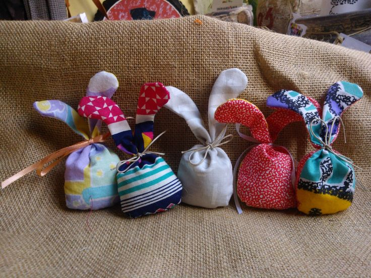 #Easter #bunnies #decoration #fabric