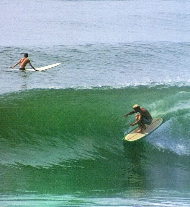 Surfing malibu california