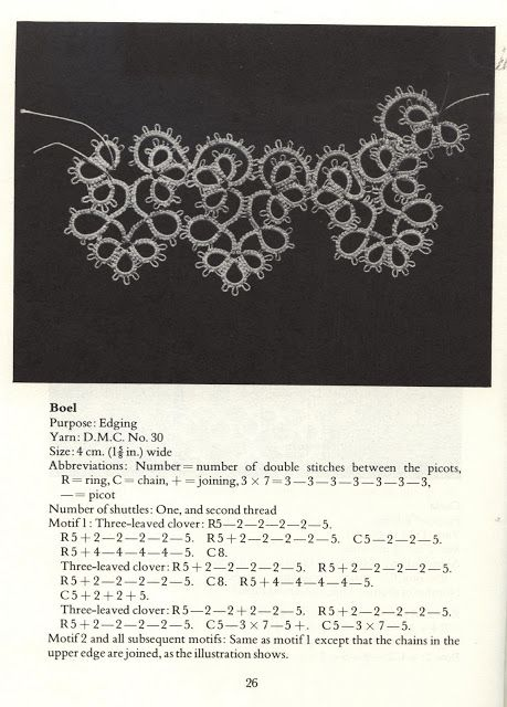 Tatting Patterns and designs – Frivolitera – Webová alba Picasa